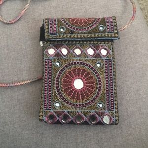 Handbags - Pakistan multicolor cross body purse.